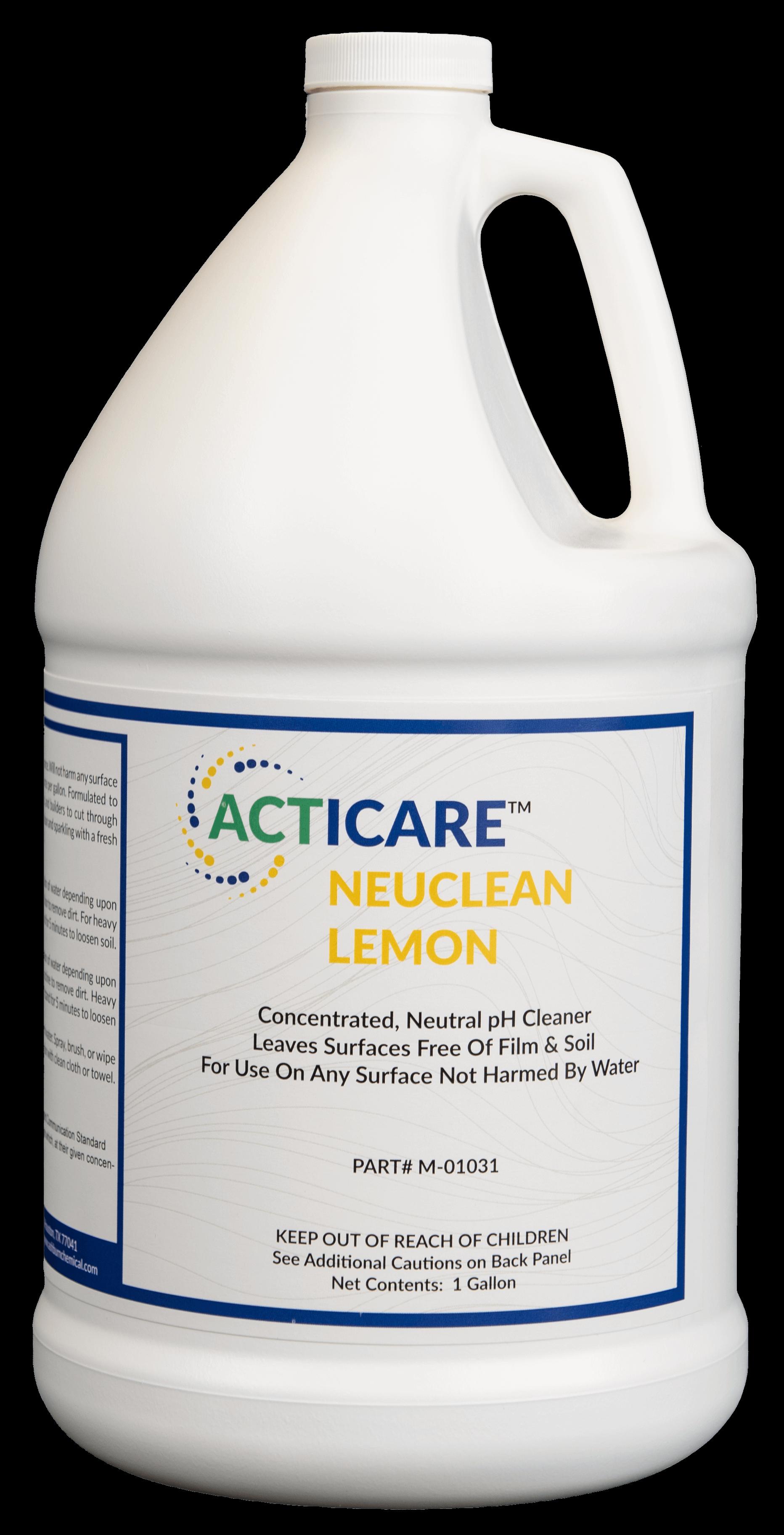 NeuClean Lemon Floor Cleaner. Neutral floor cleaner for daily floor cleaning